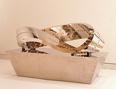 1960年に「ネオ・ダダイズム・オルガナイザーズ」を結成。60年代後半には金属製のメビウスの輪に電球を走らせた《反物質;ライト・オン・メビウス》等、テクノロジーに関心を寄せた作品が評価され大阪万博へ参加。本展では、万博のせんい館のために制作した《大ガラス》や、その直後に制作した《豚;pig' Lib;》等を展示予定。