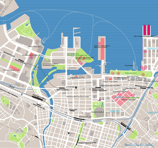 Yokohama Map Pdf – Yokohama Tourist Map