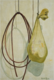 Zhang uses serene and delicate brushwork to depict mundane objects that tend to get overlooked in the course of day-to-day life. While figurative, his paintings are not realistic depiction of these objects, but are made with a unique process entailing painting from memory. In this exhibition we present three new works featuring his recent motifs of string, old used bags, mattresses, and boxes.